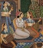 Rajrang Paper 5.5 x 9 Inch Beautiful Traditional Unframed Painting