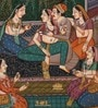 Paper 5.5 x 9 Inch Marvellous Traditional Unframed Painting by Rajrang