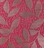 Ramabhakta Maroon Nature & Florals Cotton Queen Size Bed Sheets - Set of 3