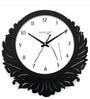 Black & White Wooden Eco Unique Wall Clock by Random