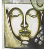 Rang Rage Canvas 16 x 2 x 16 Inch Hand-painted Serene Buddha Stretched Framed Painting