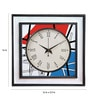 Rang Rage Multicolour Mango Wood Classics Square Wall Clock