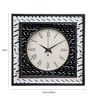 Rang Rage Multicolour Mango Wood Elegance Square Wall Clock