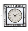 Rang Rage Multicolour Mango Wood Spring Square Wall Clock