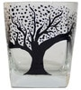 Rang Rage Tree of Life Handpainted Whisky Glasses - Set of 6