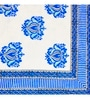 Ratan Jaipur Blue Cotton Single Size Quilt