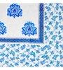 Ratan Jaipur Blue Fabric Dohar