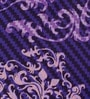 Raymond Home Purples Geometric Patterns Cotton Queen Size Bed Sheets - Set of 3