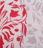 Red Cotton Queen Size Bed sheet - Set of 3 by Raymond Home