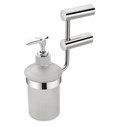Regis Glossy Stainless Steel 7 X 5.5 X 2.4 Inch Ace Wall Mounted Liquid Soap Dispenser