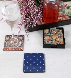Reinvention Factory Gara Wooden Coasters, Set Of 6