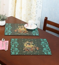 Reinvention Factory Raja Rani Wooden Placemats Set Of 6