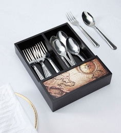 Reinvention Factory Wooden Cutlery Tray