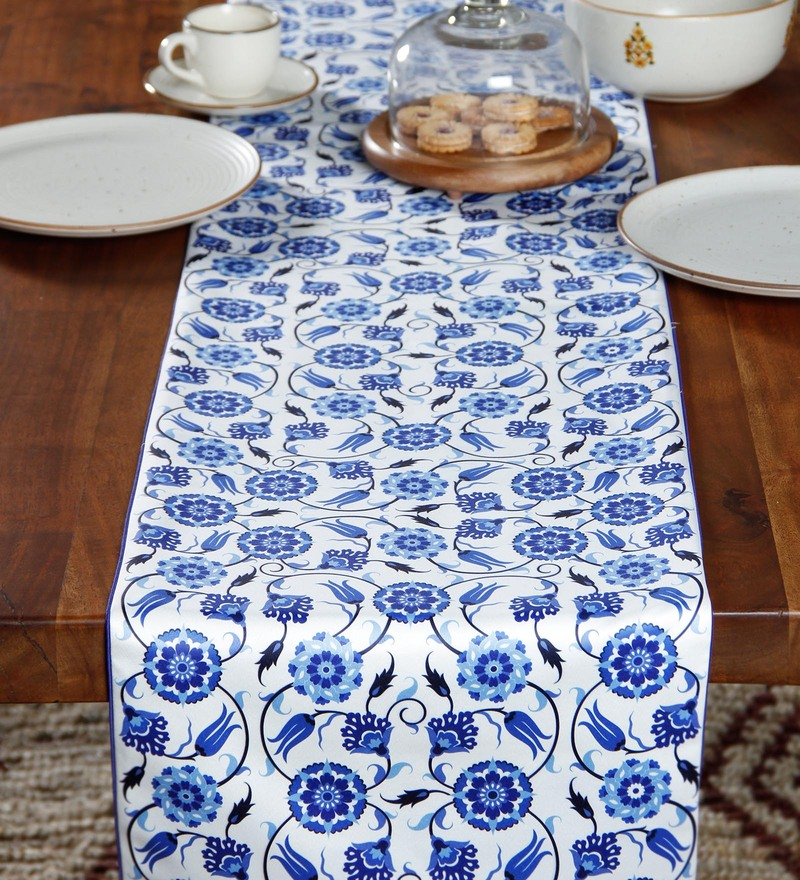 Miraculous Buy Tiansh Silver New Rose Synthetic Table Runner 12 X 36 Download Free Architecture Designs Intelgarnamadebymaigaardcom