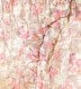 Multicolour Cotton King Size Block Print Quilt by Reme