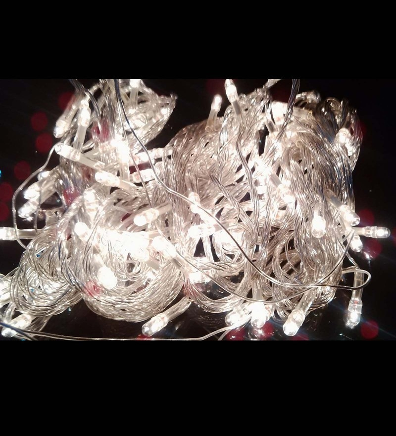 White Copper Wire Led Light by Riflection