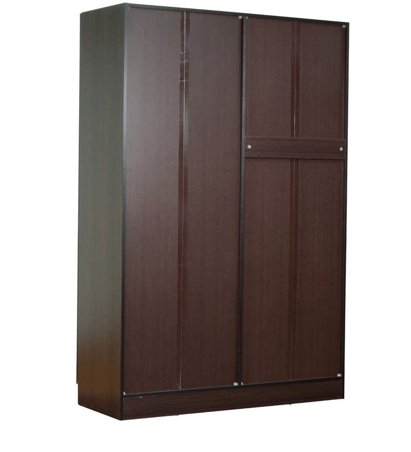 Buy rikotu four door wardrobe with two drawers in wenge for Wardrobe finishes