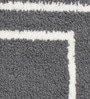 Riva Carpets Grey Cotton Rectangular 24 x 16 Inch Bath Mat