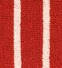Riva Carpets Red Cotton Rectangular 24 x 16 Inch Bath Mat