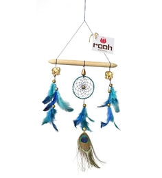 Rooh Dream Catchers Multicolour Wool And Feather Welcome Home Feng Shui