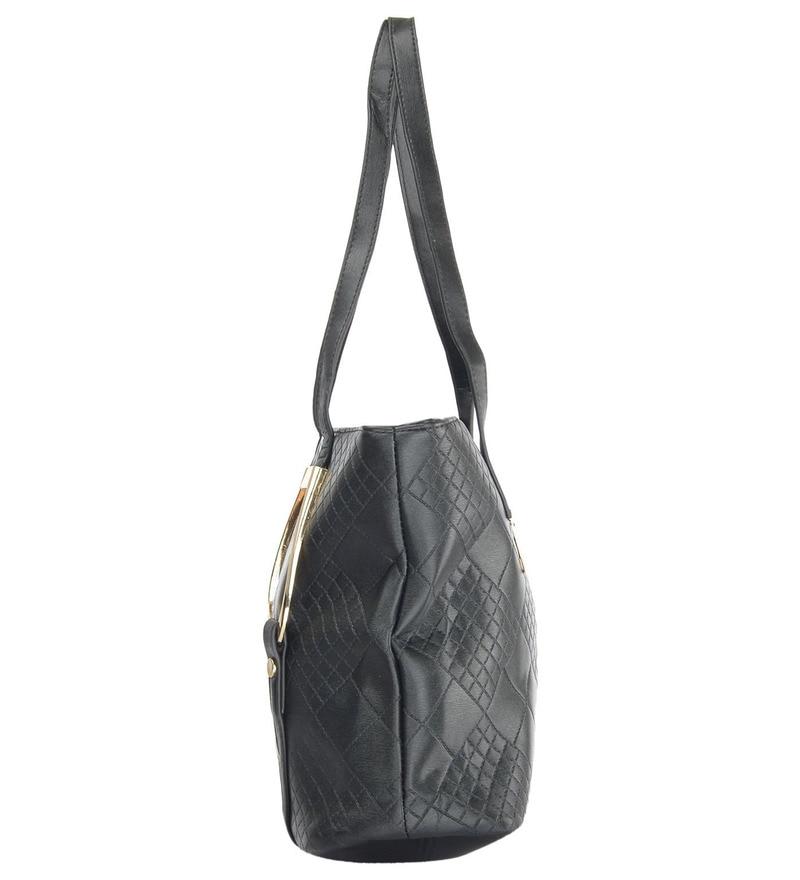 6c9124f3 Buy Ruby Stylish Black PU 42 x 14 x 26 Inch Women's Handbag Online ...