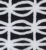 Amaia Bath Mat in Black by Casacraft