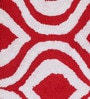 Fabricio Bath Mat in Red by Casacraft