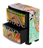 Rural Craft Multicolour MDF Two Drawer Box