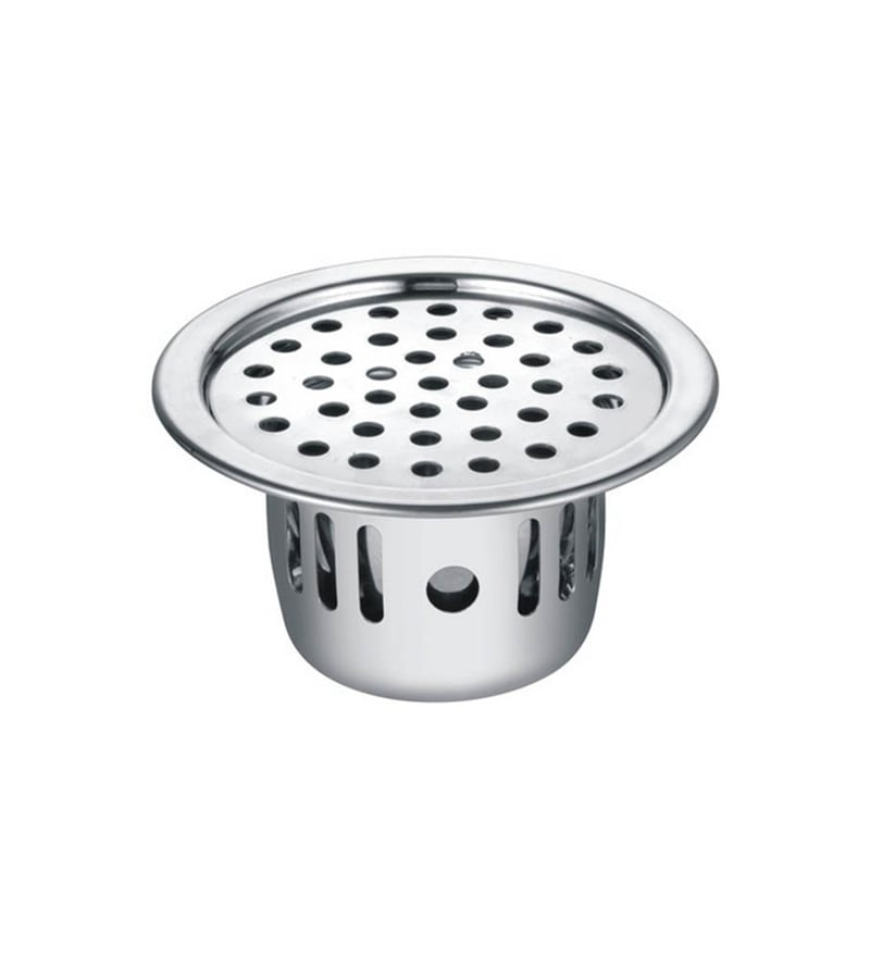 S Chilly Chrome Stainless Steel Cockroach Floor Drain Jali