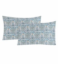 S9Home By Seasons Multicolour 100% Cotton 20 X 30 Inch Printed Pillow Cover - Set Of 2 - 1603109