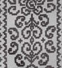 S9home by Seasons Contemporary Grey Polyester Table Runner