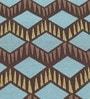 S9home by Seasons Geometrical Multicolour Polyester Table Cloth