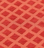 S9home by Seasons Geometrical Red Polyester Table Cloth