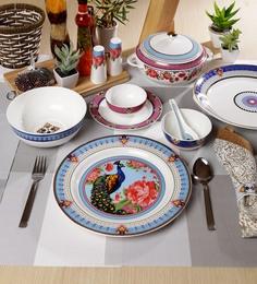 Mayura Collection Bone China Dinner Set Of 48
