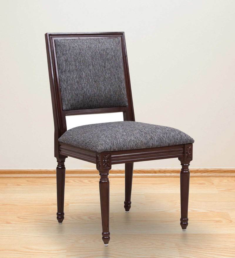 Sanford Dining Chair in Grey Colour by Amberville