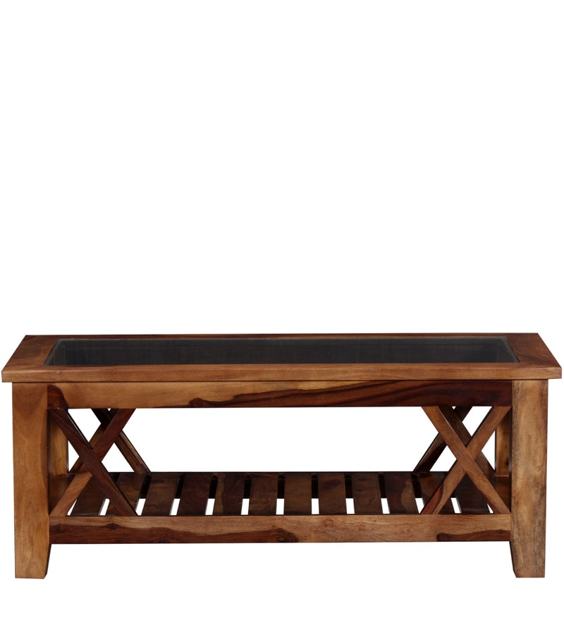 Buy Fife Coffee Table In Provincial Teak Finish By Woodsworth Online Rectangle Coffee Tables