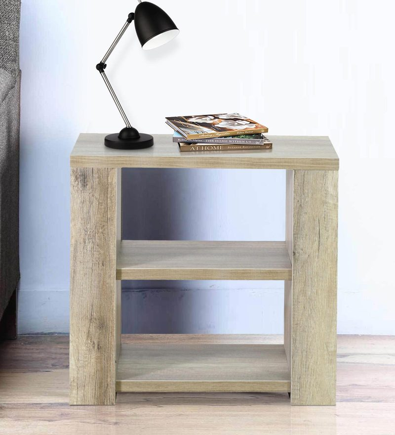 Satsuki Bedside Table in Canyon Monom Finish by Evergreen