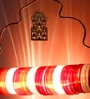 Sahil Sarthak Designs Jaipur Choori Red Lamp