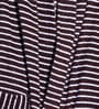 Brown Stripe Cotton Long Sleeves Gents Bathrobe by Sand Dune