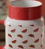 Sanjeev Kapoor Watermelon Bone China 550 ML Mason Mug - Set of 4
