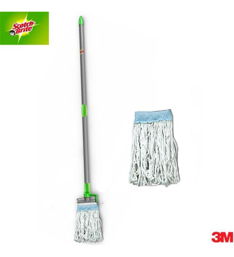 Scotch-Brite Footlock Mop and Refill Combo