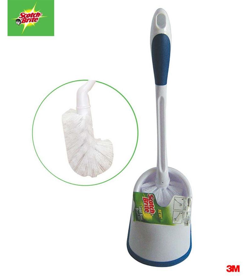 Scotch-Brite Premium Toilet Brush with Holder