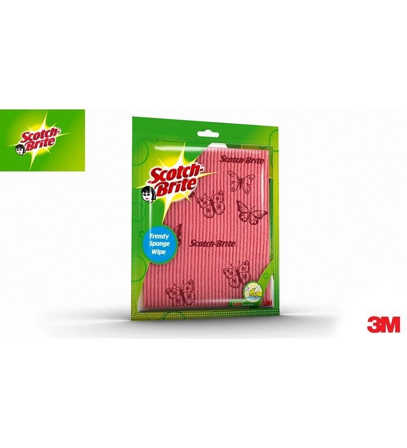 Scotch-Brite Trendy Sponge Wipe - Set of 2Pcs