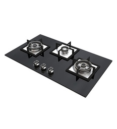 Seavy Starlight 3 Brass Burner Hob With Built In Auto Ignition