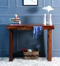 Enumclaw Console Table In Provincial Teak Finish - 1463475