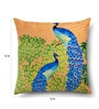 Multicolour Cotton 16 x 16 Inch HD Digital Printed Abstract Cushion Covers - Set of 8 by SEJ By Nisha Gupta