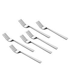 Shapes Captain Stainless Steel Dinner Forks - Set Of 6
