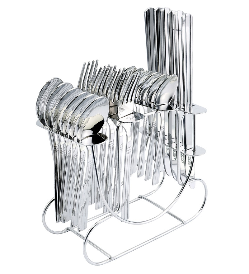 Shapes Koko Rainbow Stainless Steel 25-piece Cutlery Set