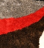 Red Polyester Carpet by Shobha Woollens