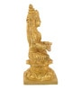 Gold Brass Goddess Annapurna Idol by ShopEndHere